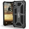 UAG-IPHX-M-GR - Coque UAG iPhone X série Monarch 5 couches antichoc et alliage métal coloris Graphite