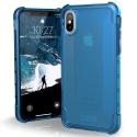 UAG-IPHX-Y-GL - Coque UAG Plyo pour iPhone X coloris bleu translucide