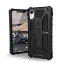 UAG-IPHXRMONANOIR - Coque UAG iPhone XR série Monarch 5 couches antichoc et alliage métal coloris noir