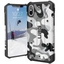 UAG-IPHXSMAXCAMOBLANC - Coque UAG iPhone XS Max série Pathfinder antichoc coloris camouflage blanc