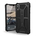 UAG-IPHXSMAXMONANOIR - Coque UAG iPhone Xs Max série Monarch 5 couches antichoc et alliage métal coloris noir