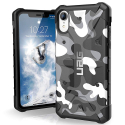 UAG-IPXR-PATHCAMOBLANC - Coque iPhone XR de UAG série Pathfinder coloris camouflage artic