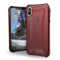 UAG-IPXSM-PLYOROUGE - Coque iPhone Xs Max de UAG série Plyo coloris rouge antichoc