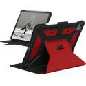 UAG-METROIPADAIR2020RED - Coque UAG Metropolis poour iPad Air 2020 (10,9 pouces) renforcé et antichoc coloris rouge