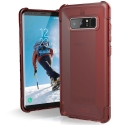 UAG-NOTE8-YCR - Coque UAG Plyo pour Galaxy Note 8 coloris rouge translucide