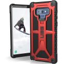 UAG-NOTE9-MONARCHRED - Coque UAG Galaxy Note9 série Monarch 5 couches antichoc et alliage métal coloris rouge