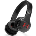 UNDERARMOUR-TRAINBTRED - Casque bluetooth Under-Armour Train BT noir et rouge