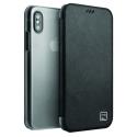 UNIQ-DUOIPX - Etui iPhone-X / Xs Uniq DUO coloris noir dos transparent