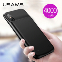 USAMS-CD69 - Coque iPhone XS Max avec batterie intégrée 4000 mAh