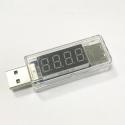 USB-METER - Chargeur USB avec LCD pour mesurer tension et intensit�
