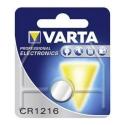 VARTA-CR1216 - Pile bouton VARTA CR1216 au lithium 3V CR-1216
