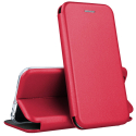 VEGA-IP11ROUGE - Etui iPhone 11 rabat latéral fonction stand coloris rouge
