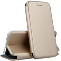 VEGA-IP8GOLD - Etui iPhone 7/8 rabat latéral fonction stand coloris gold