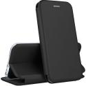 VEGA-IPXNOIR - Etui iPhone Xs rabat latéral fonction stand coloris noir