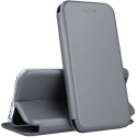 VEGA-PSMARTZGRIS - Etui P-Smart Z rabat latéral fonction stand coloris gris