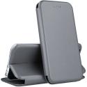 VEGA-S9GRIS - Etui Galaxy S9 rabat latéral fonction stand coloris gris