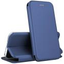 VEGA-S9PLUSBLEU - Etui Galaxy S9+ rabat latéral fonction stand coloris bleu