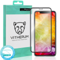 VITHERUM-TURQIPXS - Protection écran Vitherum 3D Full-Glue iPhone XS contour noir