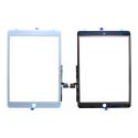 VITRE-IPAD102BLANC - Vitre tactile iPad 7 (2019) de 10,2 pouces coloris blanc