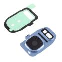 VITREAPNGALS7BLEU - Vitre appareil photo Galaxy S7 / S7 Edge coloris bleu