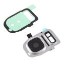 VITREAPNGALS7SILVER - Vitre appareil photo Galaxy S7 / S7 Edge coloris gris silver