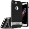 VR132-IP8PLUSGRISFONCE - Coque iPhone 7/8 Plus VRS-Design série High-Pro-Shield noir et gris