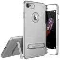 VRS-SIMPLYIP7GRIS - Coque iPhone 7/8 VRS-Design coloris gris silver