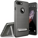 VRS-SIMPLYIP8PLUSGREY - Coque iPhone 7/8 Plus VRS-Design coloris gris titane