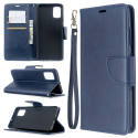 WALLET-A51BLEU - Etui Galaxy A51 bleu rabat latéral logements cartes fonction stand