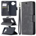 WALLET-MI10TLITENOIR - Etui Xiaomi MI-10T Lite (5G) noir avec rabat latéral et logements cartes