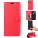 WALLET-MI8ROUGE - Etui Xiaomi Mi-8 rouge avec rabat latéral et logements cartes