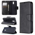 WALLET-NOKIA23NOIR - Etui Nokia 2.3 type portefeuille noir avec logements cartes