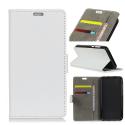 WALLET-NOKIA2BLANC - Etui Nokia 2 type portefeuille blanc avec logements cartes