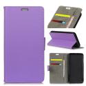 WALLET-NOKIA2VIOL - Etui Nokia 2 type portefeuille violet avec logements cartes