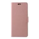 WALLET-NOKIA51ROSE - Etui Nokia 5.1 type portefeuille rose avec logements cartes