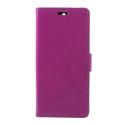 WALLET-NOKIA51VIOLET - Etui Nokia 5.1 type portefeuille violet avec logements cartes