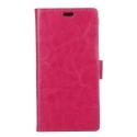 WALLET-NOKIA6FUSHIA - Etui Nokia 6 type portefeuille fushia avec logements cartes