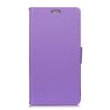 WALLET-PSMARTVIOLET - Etui Huawei P-Smart rabat latéral violet logements cartes fonction stand