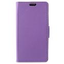 WALLET-SUNNY2VIOLET - Etui Wiko Sunny-2 rabat latéral violet type portefeuille avec logements cartes