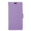 WALLET-SUNNY3VIOLET - Etui Wiko Sunny-3 rabat latéral violet type portefeuille avec logements cartes