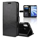 WALLET-U12LIFENOIR - Etui portefeuille pour HTC U12-Life rabat latéral noir