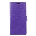 WALLET-VIEW2PROVIOLET - Etui portefeuille Wiko View-2 PRO rabat latéral violet logements cartes