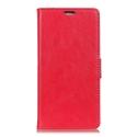 WALLET-XPL2ROUGE - Etui Xperia L2 rouge rabat latéral fonction stand logements cartes