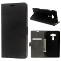 WALLET-ZS570KL - Etui Zenfone 3 Deluxe ZS50KL noir rabat logements cartes
