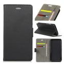 WALLETMATE20LITE - Etui Mate-20 Lite portefeuille noir rabat latéral porte-cartes fonction stand