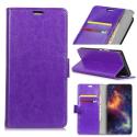 WALLETMATE20VIOLET - Etui Mate-20 portefeuille violet rabat latéral porte-cartes fonction stand