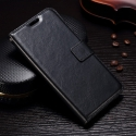 WALLETMOTOG5SNOIR - Etui type portefeuille noir pour Motorola Moto G5s avec rabat latéral fonction stand