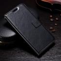 WALLETMOTOG5SPLUSNOIR - Etui type portefeuille noir pour Motorola Moto G5s Plus rabat latéral fonction stand
