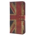 WALLETUK-Y62017 - Etui rabat latéral Huawei Y6 2017 drapeau UK Union Jack