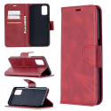 WALLVINT-OPPOA72ROUGE - Etui type portefeuille Oppo A52/A72/A92 rouge avec rabat latéral fonction stand